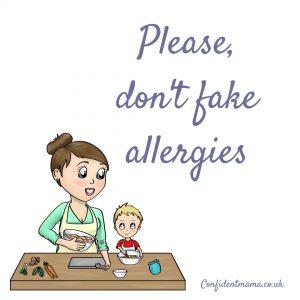 fake allergies